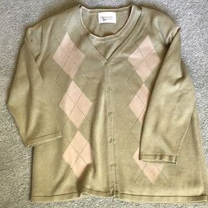 Women's sweater and top set
